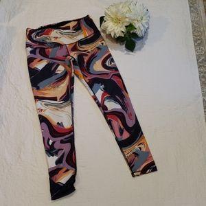 Lucy Studio Hatha Yoga Pant Geometric Print LG